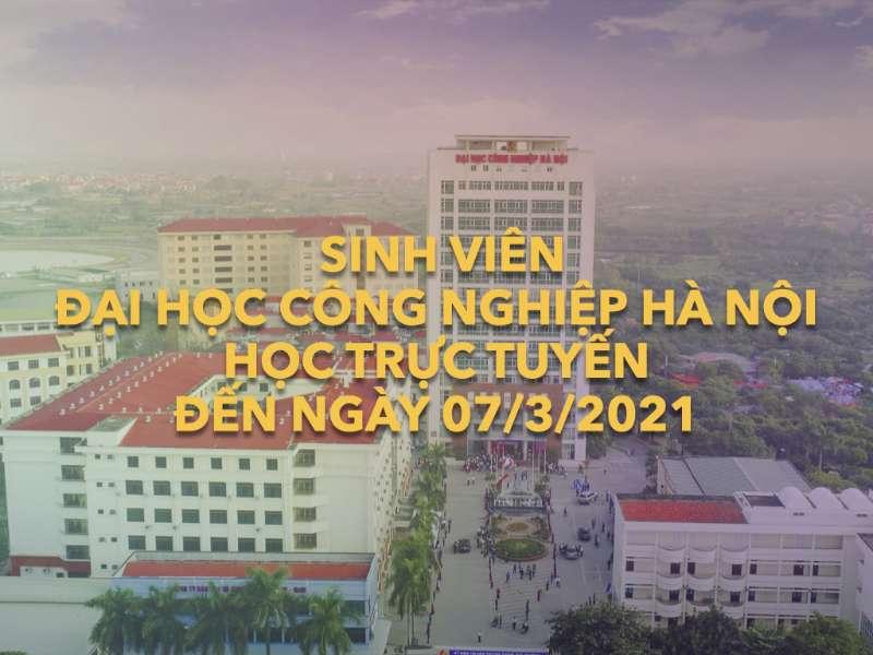 Kế hoạch giảng dạy và học tập đến 07/3/2021