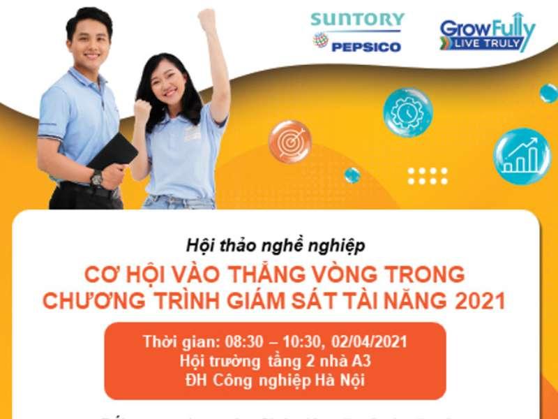 Hội thảo cơ hội việc làm Công ty TNHH Suntory Pepsico Việt Nam