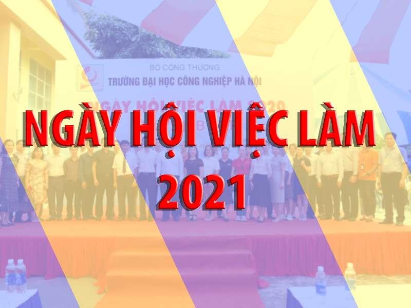 Thông báo tổ chức Ngày hội việc làm 2021