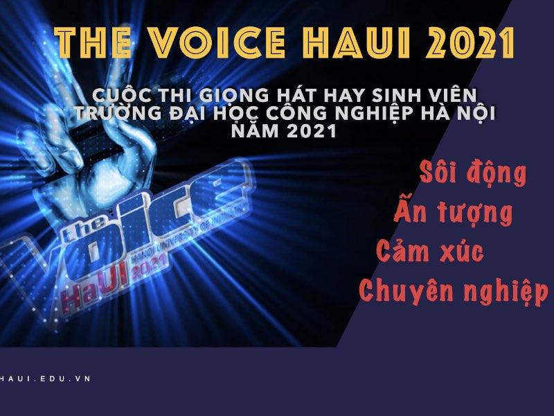 """Thông báo tổ chức cuộc thi """"Giọng hát hay sinh viên"""" năm 2021"""