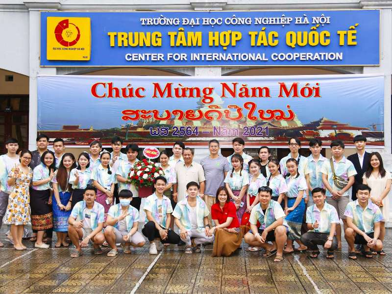 Traditional Bunpimay Festival organized for Lao students