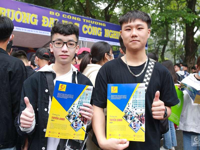 Đại học Công nghiệp Hà Nội tuyển thẳng 07 thí sinh đoạt giải cấp quốc gia