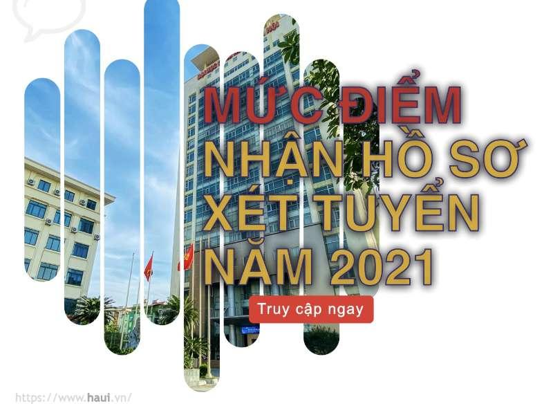 Đại học Công nghiệp Hà Nội công bố mức điểm nhận hồ sơ xét tuyển năm 2021