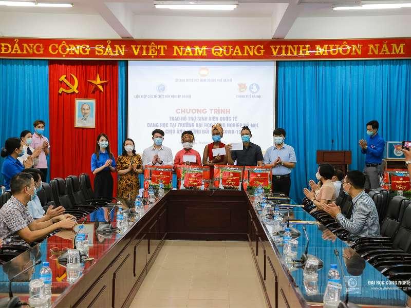 Assisting HaUI international students amid prolonged COVID-19 social distancing