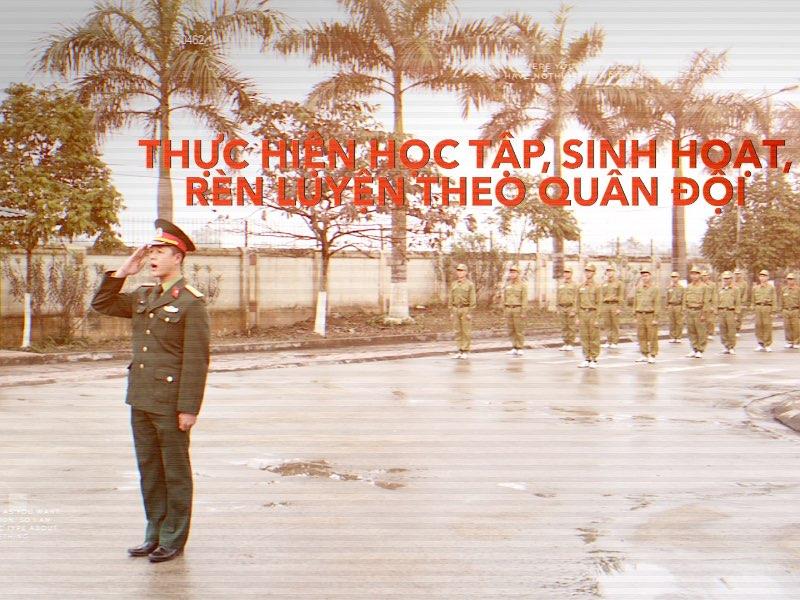 Phóng sự về Trung tâm Đào tạo Quốc phòng và An ninh, Đại học Công nghiệp Hà Nội